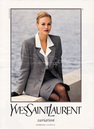YSL campaign by Andre Carrara 1993
